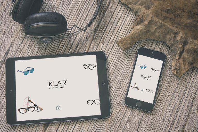בניית אתר תדמית עבור Klar