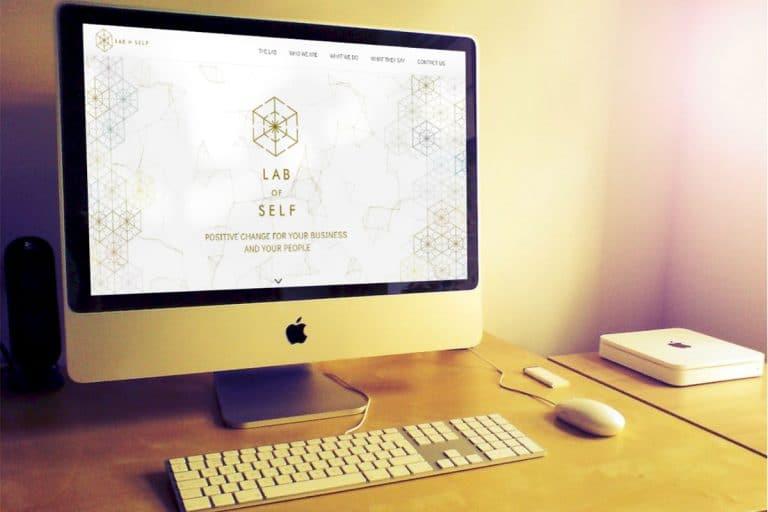 בניית אתר one pager תדמיתי עבור Lab Of Self