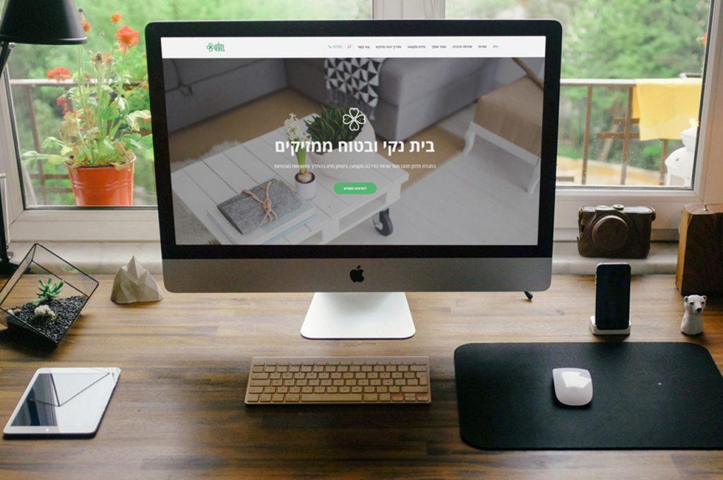 בניית אתר אינטרנט לתלתן שירותי הדברה